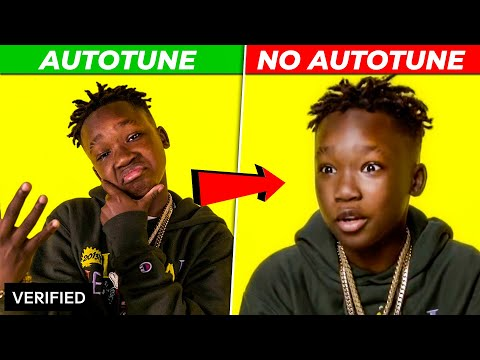 GENIUS INTERVIEWS Vs REAL SONGS 2020 (AUTOTUNE Vs  NO AUTOTUNE)