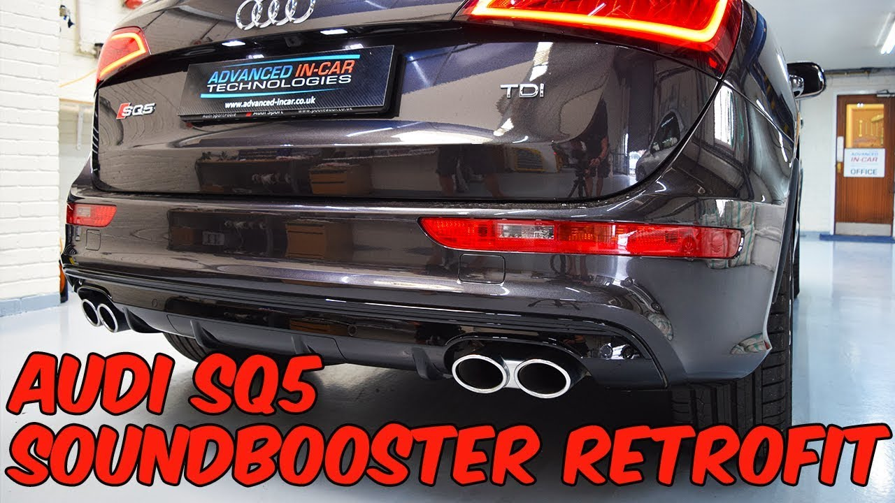 Audi SQ5 2017 Sound Booster / Active Sound Retrofit