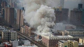 New York City Manhattan Harlem Gas Explosion Many Dead In Nyc