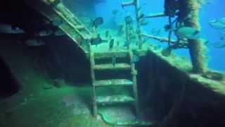 Inmersión de buceo en el pecio Boreas (Palamós, Girona)