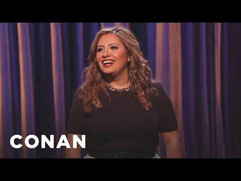 Cristela Alonzo Stand-Up 03/02/15  - CONAN On TBS
