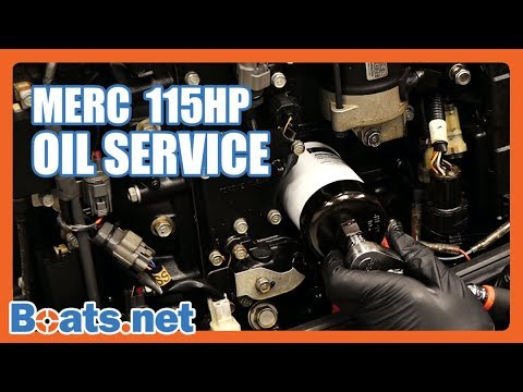 How To Change The Oil On A Mercury Outboard Mercury 115 Oil Change