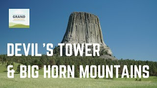 Ep. 44: Devil's Tower & Big Horn Mountains | RV travel Wyoming camping
