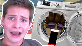 Escape the EVIL Laundromat Obby in Roblox!!!