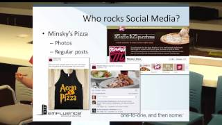 Social Media and the Restaurant Industry presented by Jessica Best