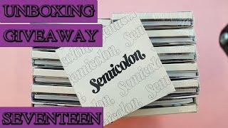 giveaway 세븐틴 Seventeen -[Semicolon Special Album Unboxing(ve…