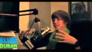 justin bieber 'miley cyrus is not my type but selena gomez is pretty!' z100 interview mp4.avi.flv