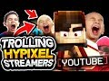 TROLLING HYPIXEL STREAMERS WITH [YT] RANK! *RIP HEADPHONE USERS* - (MVP++ GIVEAWAY)