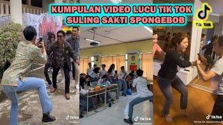 Kumpulan Tik Tok Lucu Suling Sakti Spongebob Lucu Abiss 2020