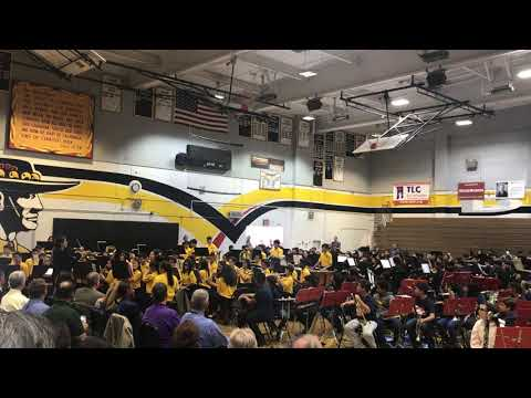 ABC School District Band - Carmenita Middle School Band Performance  5/22/2019