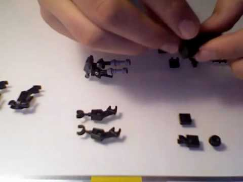 How To Make An Accurate Lego Alien Youtube
