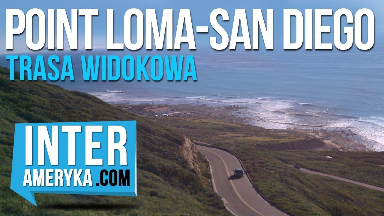 Kalifornia – Przejazd Samochodem nad Point Loma