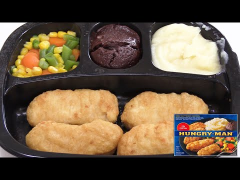 How Good Is Hungry- Man's Beer Battered Chicken TV Dinner? - The Wolfe Pit
