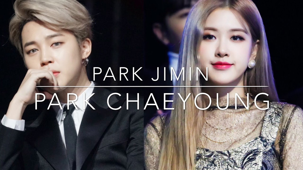 Blackpink Rose And Bts Jimin Gda 2019 All Moment Youtube