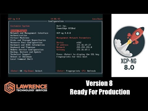 XCP NG  8 Released and Ready For Production
