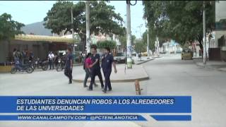 Alrededores de la Universidad del Magdalena un sector peligroso