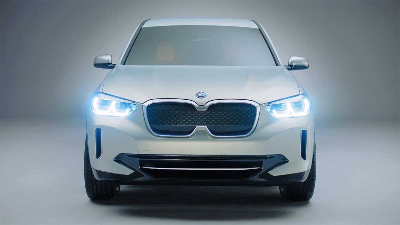 2018 Bmw Concept Ix3 All Electric Car Youtube