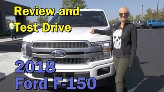 Test Drive & Review-2018 Ford F-150 Platinum