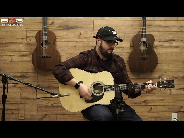 AMI (Sigma) DT-1STE Acoustic Guitar Overview