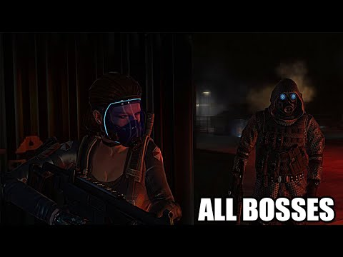 Resident Evil: Operation Raccoon City - All Bosses (With Cutscenes) HD 1080p60 PC
