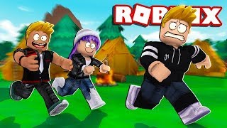 THE 3M ESCAPE FROM a SUMMER CAMP! ROBLOX WITH MARY AND SORA