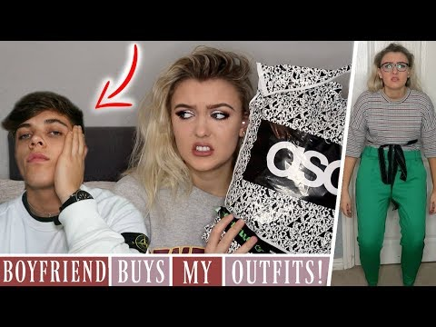 My Boyfriend Chooses My Outfits From ASOS! *CHALLENGE*