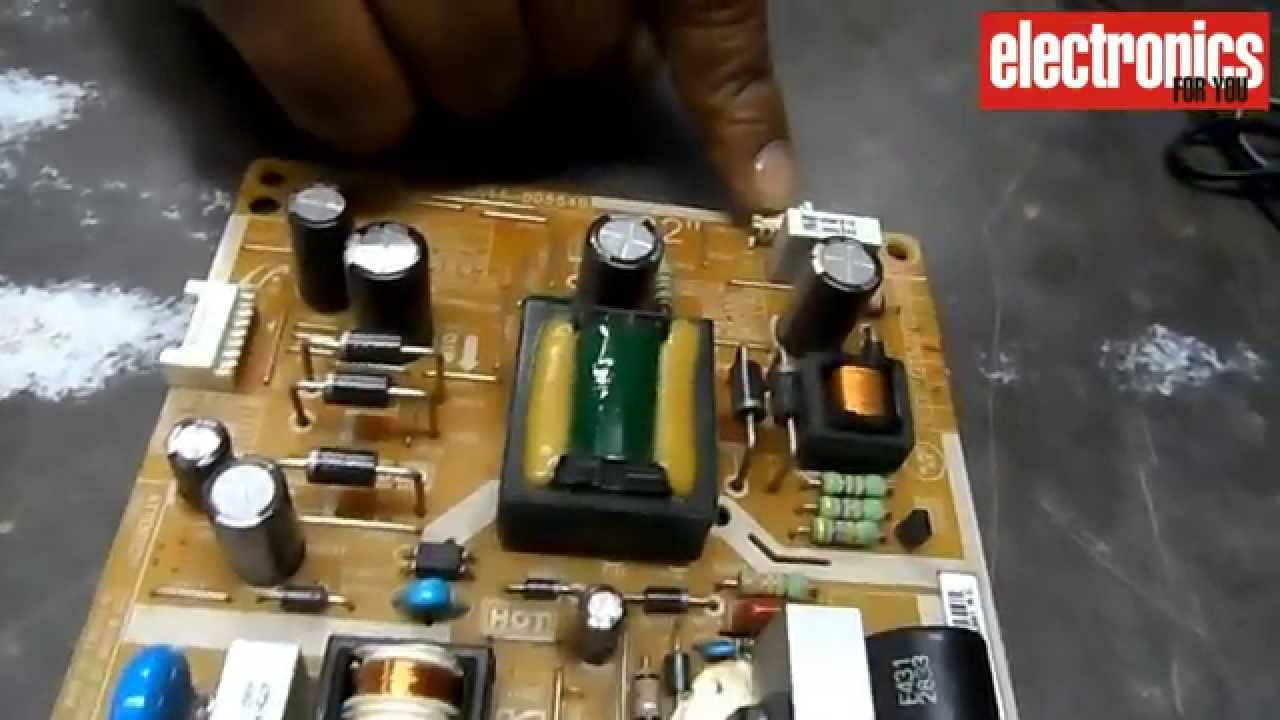 Led Tv Power Supply Board Overview Hindi Youtube Home Audio Gt Video Parts Amplifier Components Premium