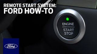 homepage tile video photo for Ford Remote Start System   Ford How-To   Ford