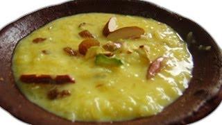 Rice Pudding Recipe / Phirni Recipe - Indian Dessert