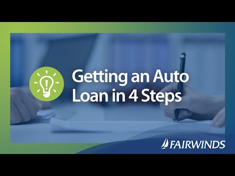 Getting an Auto Loan in 4 Steps   FAIRWINDS Credit Union