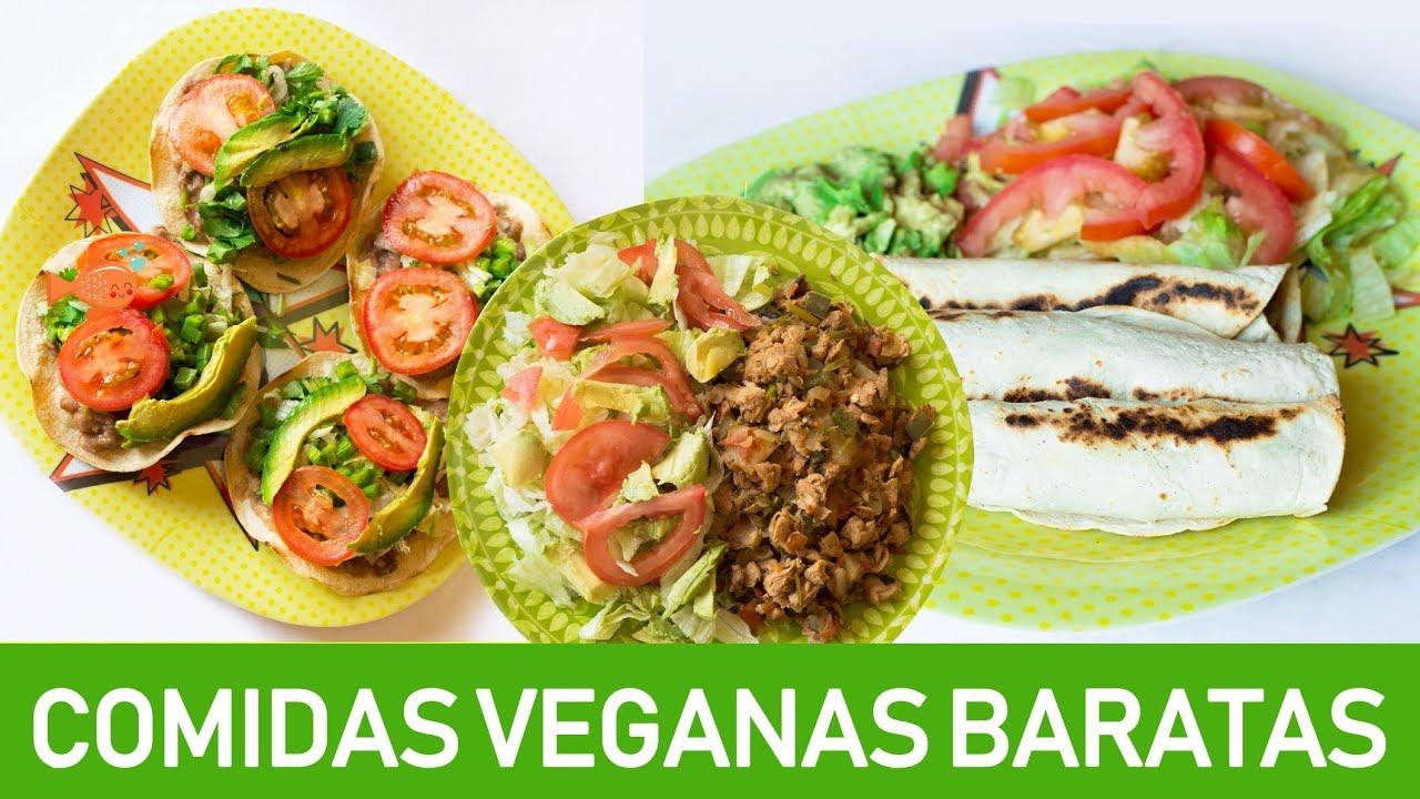 Comidas Veganas Baratas Y Faciles Para Toda La Semana
