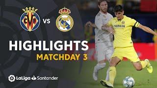 Highlights Villarreal Cf Vs Real Madrid 2-2