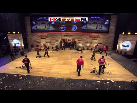 STIHL Timbersports World Championship 2014 Innsbruck, Team Episode