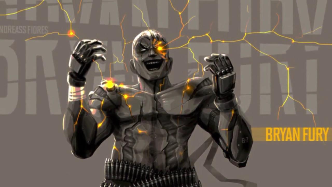 Tekken 7 Bryan Fury Combo Maximum Damage