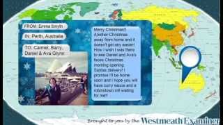 Westmeath Examiner Christmas Messages from Abroad FULL VIDEO