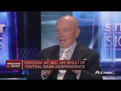 Turkey raising rates 'not the solution': Asset manager Mark Mobius | Street Signs Europe