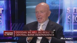 Turkey raising rates 'not the solution': Asset manager Mark Mobius   Street Signs Europe thumbnail