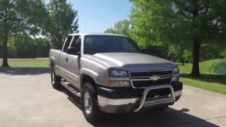 West TN 2005 Chevrolet Silverado 2500 HD 6 0L V8 Gas 4X4 For Sale Www Sunsetmotors Com