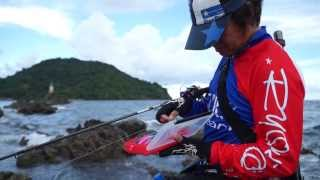 Japanese Pro Angler challenged THAI fish with Japanese latest lures!