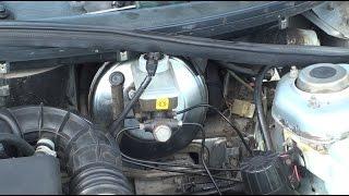 видео Вакуумный усилитель тормозов ВАЗ 2110: замена, проверка