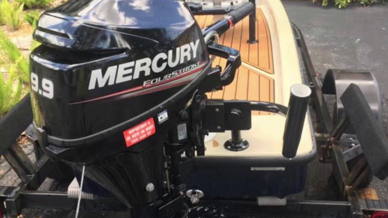 2016 Pelican Bay Ambush Skiff For Sale $3900 With 9 9 Mercury