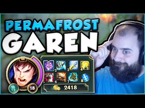 Download Youtube: THIS PERMAFROST GAREN BUILD IS ACTUALLY SO OP! PERMAFROST GAREN TOP GAMEPLAY! - League of Legends