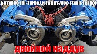 Би-турбо (Bi-Turbo) и Твин-турбо (Twin-Turbo), двойной наддув – различия. Просто о сложном