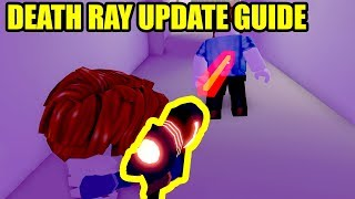 NEW DEATH RAY UPDATE (HOW TO and LOCATION) | Roblox Mad City New Update)