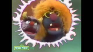 classic sesame street frazzle with halloween comment from stature and waldorf