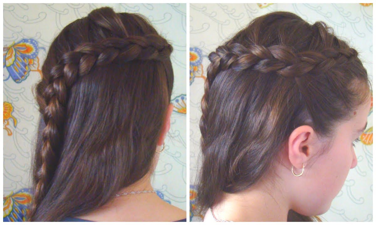 Prim S Braid Easy Half Up Hairstyles Catching Fire