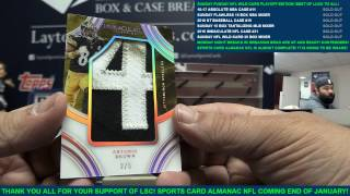 2016 Panini Immaculate Football 6 Box Case Break #31