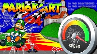 Messing Up Mario Kart 64 with Cheat Codes!
