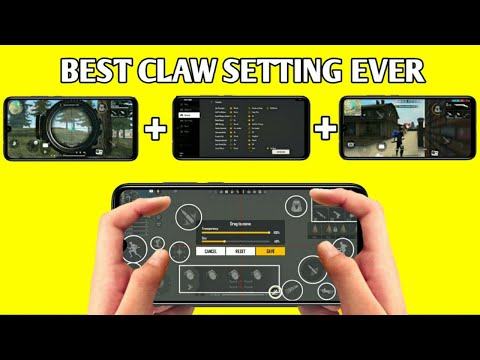 FREE FIRE 2020 BEST CLAW SETTING EWER | 4 FINGER CLAW SETTING | SANDY GAMING
