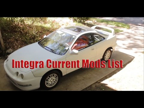 Project Integra Mods List 2016